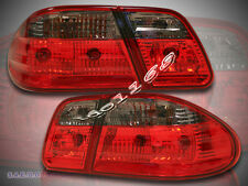 96-02 Mercedes Benz W210 EClass E300/E320/E430/E55 AMG Tail Lights Red SMOKE