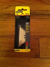 "Stanley brand utility blades .024""/0.61mm Heavy Duty Unopened Pack Lames Laminas"