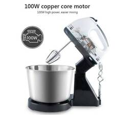 Electric 7 Speed Cake Multi Stand Mixer Food Mixing Bowl Beater Dough Blender