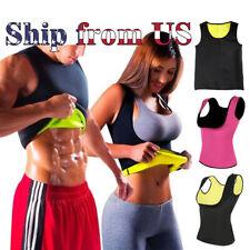 Men & Women Sauna Sweat Slimming Trainer Vest Neoprene Yoga Thermal Body Shaper