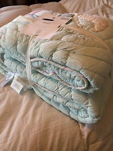 Pottery Barn Kids Gemma Mermaid Quilt Full Queen Full/Queen New With Tags