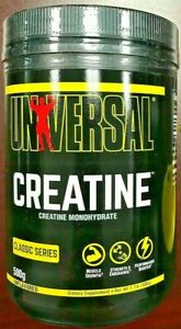 Universal Nutrition Creatine Monohydrate 500 Grams 1.10 lbs Unflavored - 10/2024