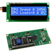 IIC/I2C/TWI/SPI Serial Interface Blue 1602 16X2 LCD Display Module For Arduino