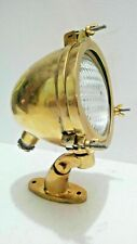 SEARCH SPOT BOAT  OLD SALVAGED NAUTICAL MARINE ANTIQUE SHIP BRASS LIGHT  1 PCS