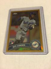 2011 TOPPS CHROME GOLD REFRACTOR ROOKIE DEE GORDON REF RC /50
