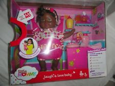 New Little Mommy Laugh & Love Baby Doll , African American  by Fisher Price NIB