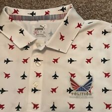 Nwot Puma Volition America Golf Shirt M