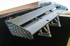 1/10 RC Car on road drift Carbon Fibre effect rear Spoiler/Wing Superb Style