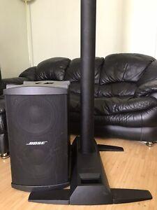 Bose L1 Model 2 With Bose Bass Bin 2 Speaker.