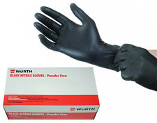 Genuine Wurth Powder Free Mechanic Tattoo Disposable Nitrile Gloves 100 X Large