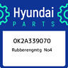 0K2A339070 Hyundai Rubberengmtg no4 0K2A339070, New Genuine OEM Part
