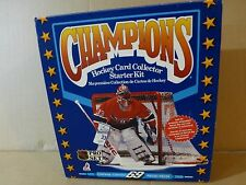 1991-92 Pro Se t PATRICK ROY  Champions Hockey card collector starter kit Box