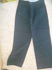 MARKS & SPENCER AUTOGRAPH BOYS NAVY TROUSERS AGE 8
