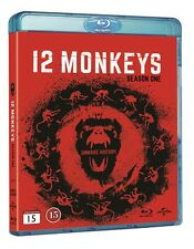 12 Monkeys Season 1 Blu Ray (Region Free)
