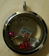 Stainless Steel heart Locket Costume Necklaces & Pendants