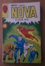 NOVA album 24 - Marvel comics - contient numéros 85 86 87 - 1985 - TTBE
