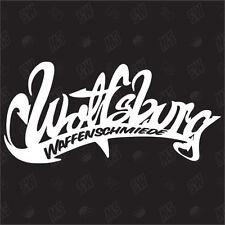 ARMURIER Wolfsburg - étiquette, mise au point Fun autocollant, jdm style