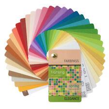 "Farbpass Frühling 35 Farben ""Elegance"" zur Farbberatung, Farbfächer Frühlingstyp"