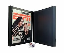 UV Protecting Lot of 2 ESPN Magazine Display Case Frame by GameDay Display