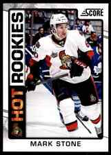 2012-13 Score Hot Rookies Mark Stone Rookie #548
