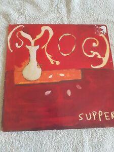 SMOG SUPPER VINYL LP RARE 1ST PRESSING INC. ORIGINAL LYRIC INNER 2003 DOMINO REC