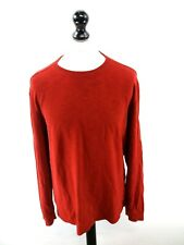 FAT FACE Mens Jumper Sweater L Large Red Cotton