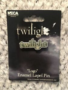 TWILIGHT logo lapel pin