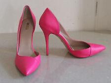Carvella glorreichen Stiletto High Heel Schuhe wunderschöne Bubble Gum Pink UK 7.5 EU 41