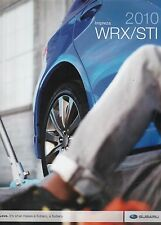 2010 Subaru Impreza WRX/STI Dealer Brochure