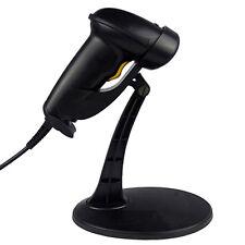 USB LASER BARCODE SCANNER READER STAND HOLDER plug & play for POS cashier system