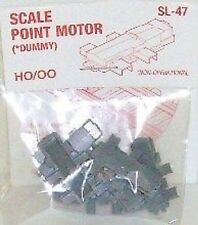 Peco 00/H0. SL-47 Scale Point Motor - Dummy. - OO Model Railways