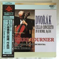 Pierre Fournier DVORAK Cello Concerto JAPAN LP Super Analogue Disc KIJC-9215 OBI
