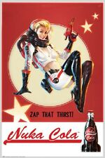 24x36 FALLOUT 4 NUKA COLA POSTER rolled and shrink wrapped