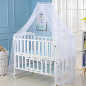 Baby Mosquito Net Netting Nursery Crib Bed Cot Canopy Cover Bedding Tent AU