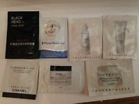 (m7L) mixed lot CHANEL, , CHANECAILLE  PHILOSOPHY  cream mask RETINOL , sachets