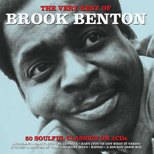 Brook Benton VERY BEST OF 50 Soulful Songs ESSENTIAL COLLECTION New Sealed 2 CD
