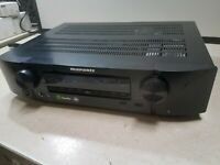 Marantz NR1605  A/V Receiver  AS IS FOR PARTS OR REPAIR DAMAGED!