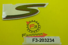 F3-2203234 Targhetta PIAGGIO Vespa GTS Super Sport 300 dal 2010 al 2011 original