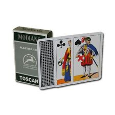 Deck of Toscane Italian Modiano Playing Cards- French Regional Style