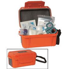 OUTDOOR FIRST AID KIT Orange - kleine Erste Hilfe Box - Wasserdicht - Notbox