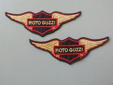 PATCH MOTO GUZZI ALI N.2 RICAMATA ORO TERMOADESIVA CM.12X4-COD.405