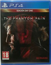 Metal Gear Solid V. The Phantom Pain. Edicion Day One. Ps4. Fisico. Pal Es