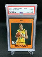 2007 Topps Orange Kevin Durant PSA 9 Low Pop HOT