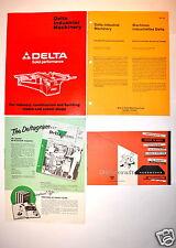 DELTA 4 PC CATALOG AND ADVERTISEMENT GROUP #RR279 Deltagram Deltacraft Beaver
