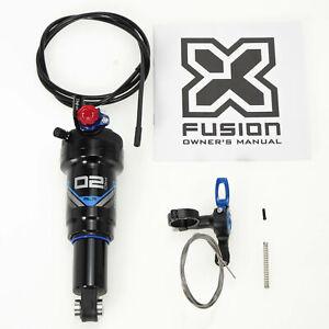 X-Fusion MTB Mountain Bike O2 PRO RLR  Rear Shock 165 x 38mm with Remote Control