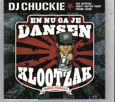 DJ Chuckie-En Nu Ga Je Dansen Klootzak cd single
