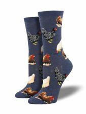 Socksmith Chicken Ladies Girls Blue Hens Christmas Secret Santa Socks LilyRosa