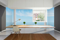 3D Seascape of Penthouse Self-adhesive Living Room Wallpaper Wall Murals Photo