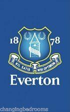 OFFICIAL EVERTON FC CREST  FOOTBALL BEDROOM BATH HOUSE RUG MAT 50 x 80cm