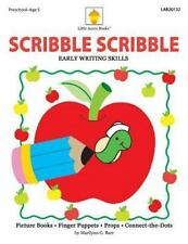 Scribble Scribble : Early Writing Skills by Marilynn G. Barr (2013, Paperback)